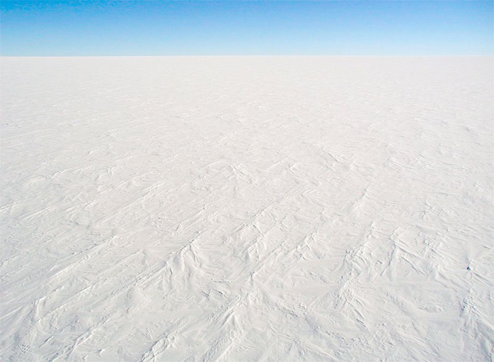 Dome C is located on the Antarctic Polar Plateau, the world's largest frozen desert.