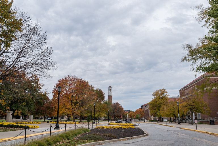 Purdue University campus in the fall, West Lafayette, Indiana