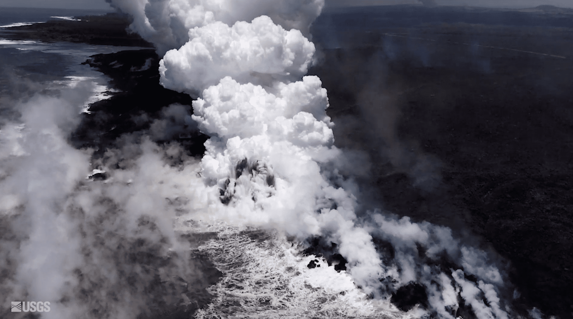Exploding Lava Creates New Danger as Kilauea Flows Into the Sea
