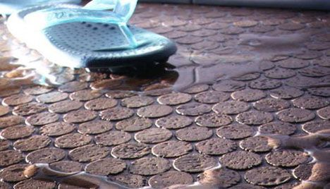 jelinek penny tile cork flooring