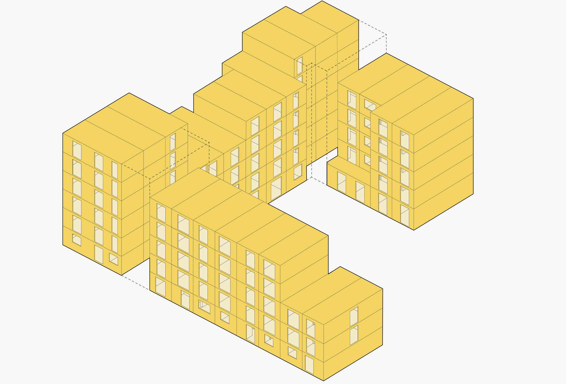 Diagram of stacked boxes
