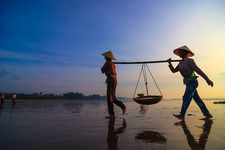 Blue Hour: Hatinh, Vietnam