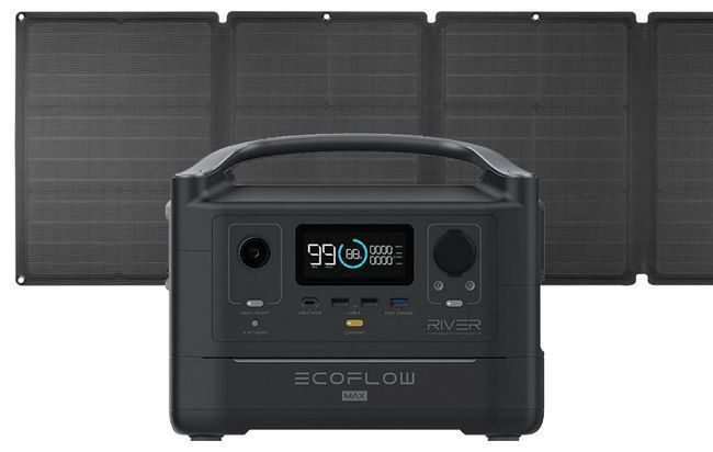 EcoFlow River Max Portable Solar Generator Kit