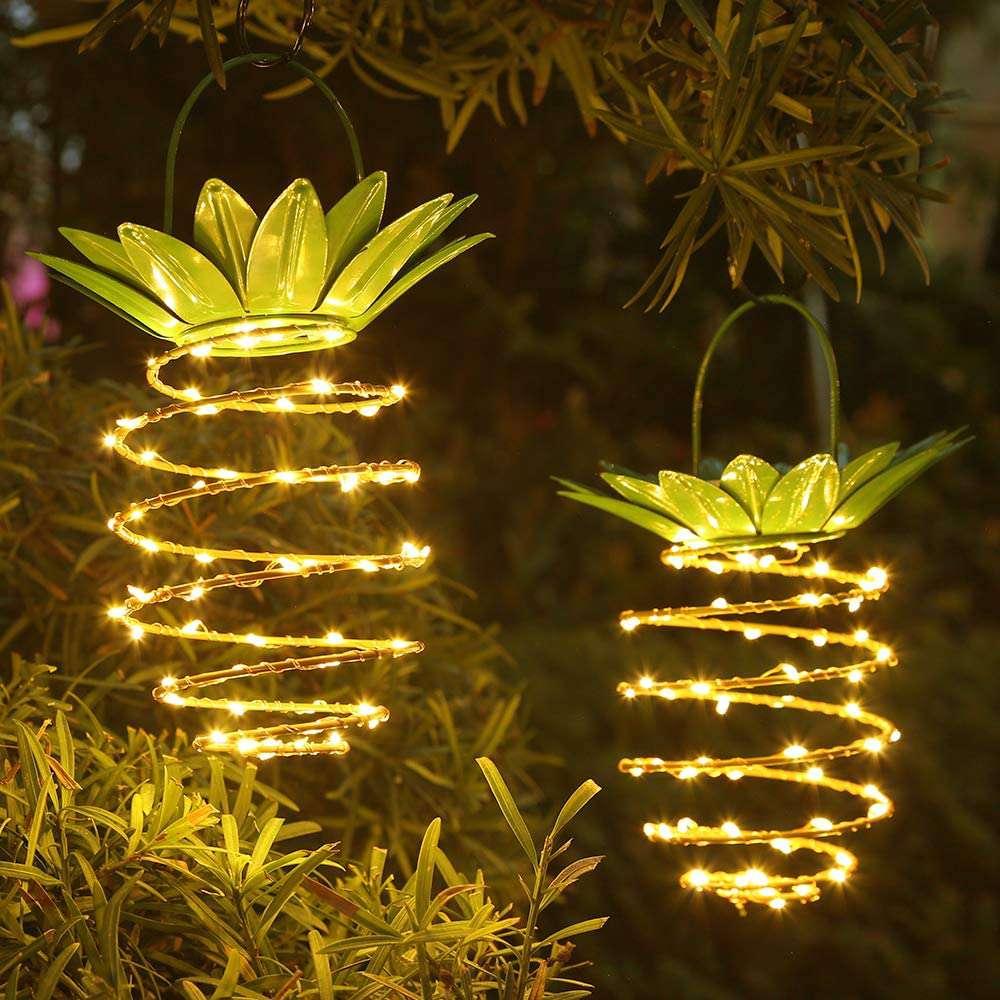 Hanging Pineapple Lights