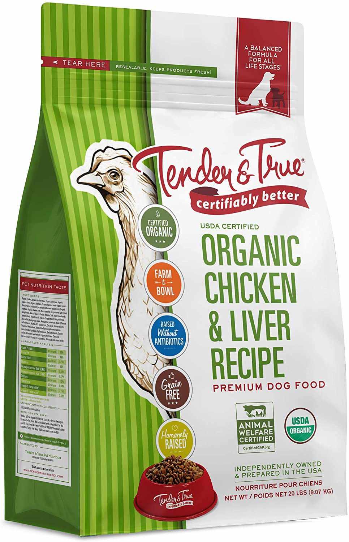 Tender & True Organic and Antibiotic-Free Dry Cat Food