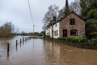 Storm Christoph Brings Flooding and Snow To The UK
