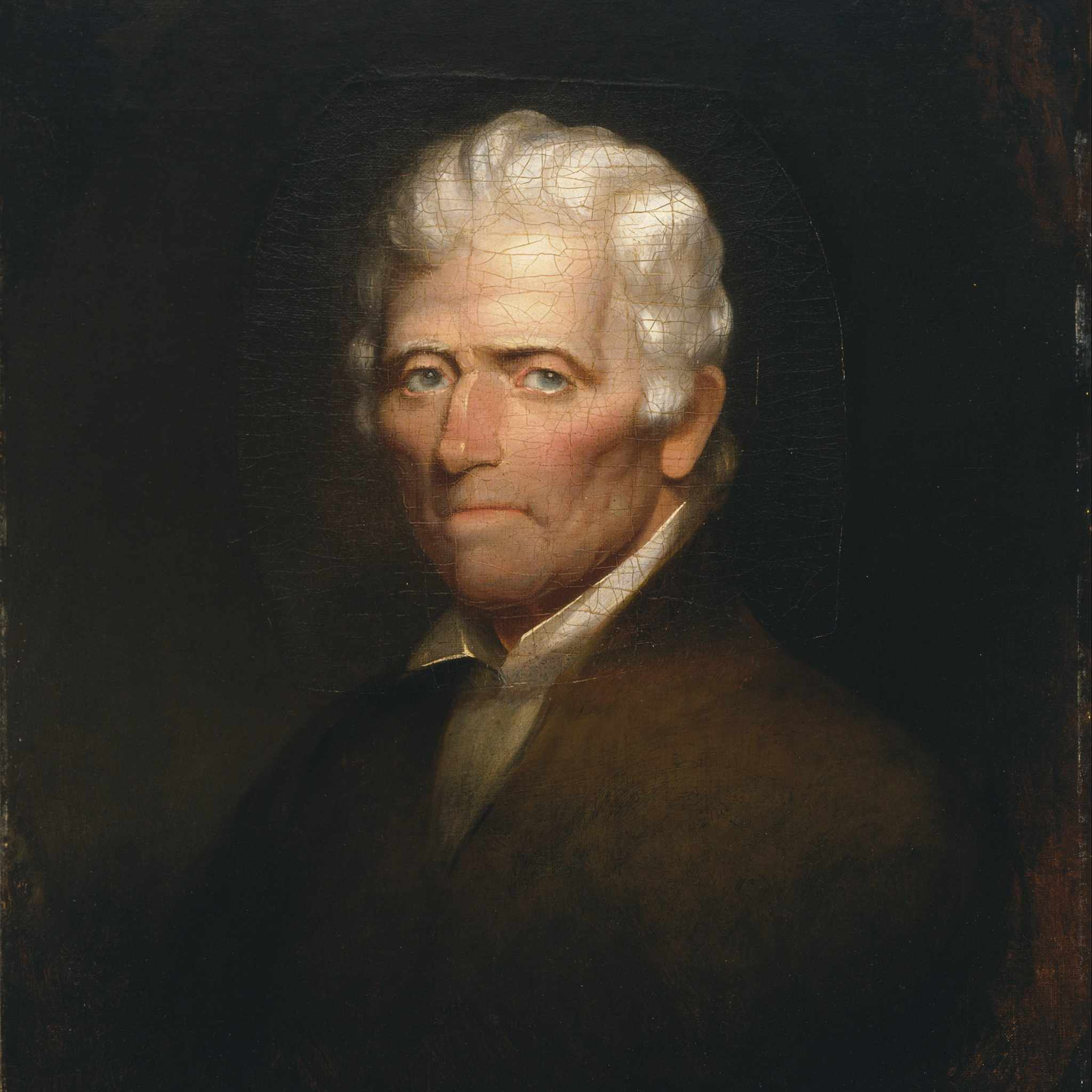 Portrait of Daniel Boone by Chester Harding