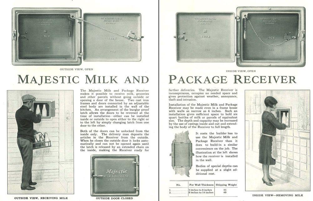 Majestic Milkbox
