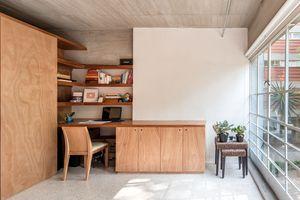 CUPA apartment renovation by Escobedo Soliz parents bedroom