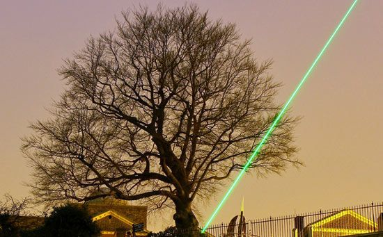 Star wars on weeds: Could lasers be a better answer than toxic herbicides for fighting weeds?