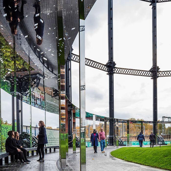 Gasholder Park, London