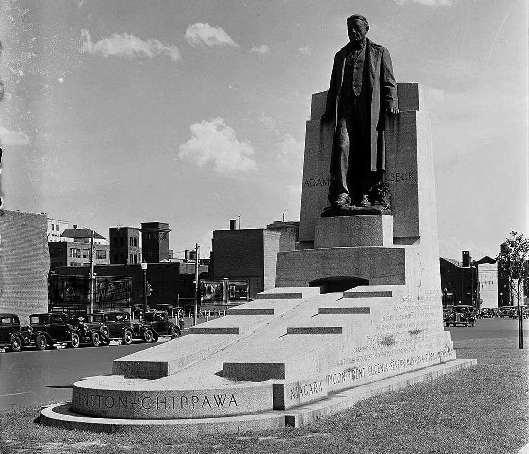Adam beck statue