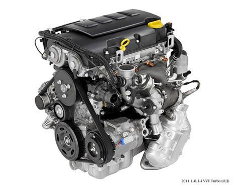 GM 1.4 turbo engine image