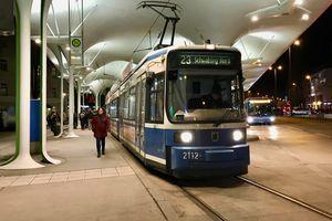 Tram in Munich