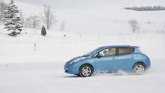 El clima frío mata la autonomía de los coches eléctricos