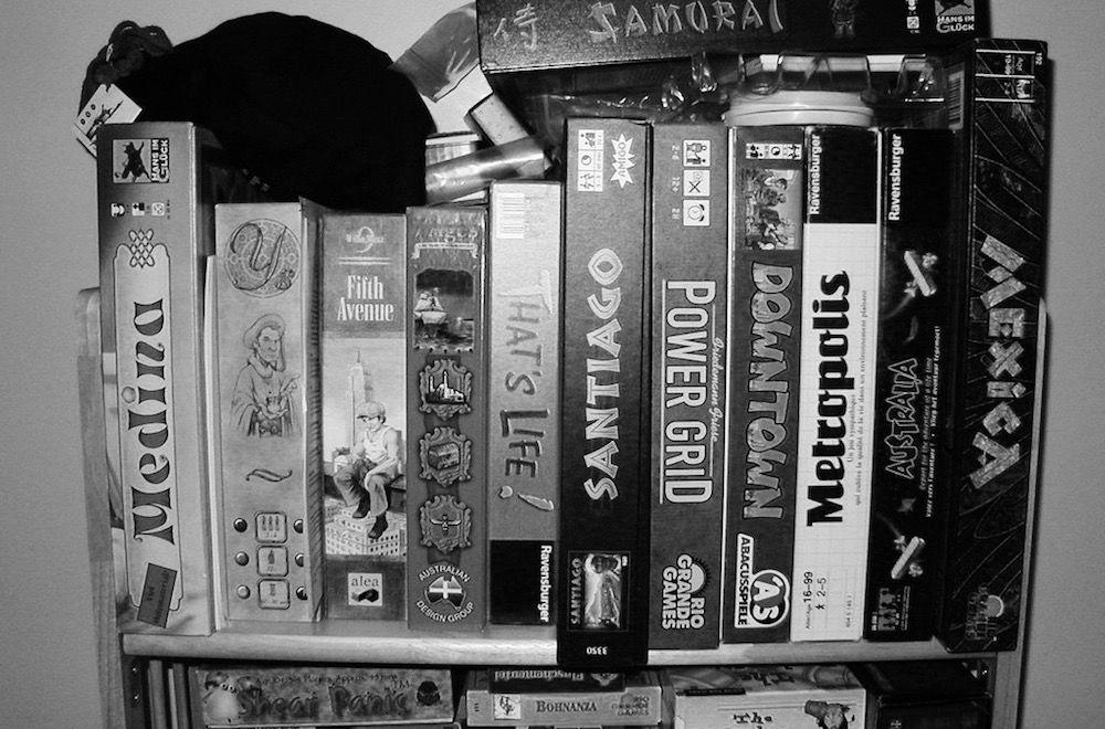 board game shelf