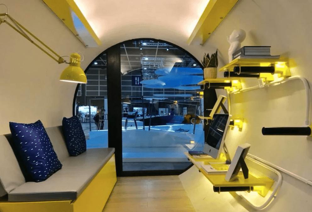 Interior of O-Tube prototype, Hong Kong