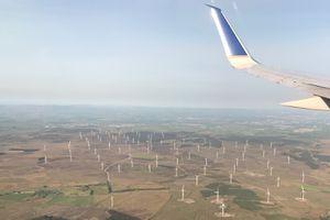 Wind Turbines in Girvan, Scotland