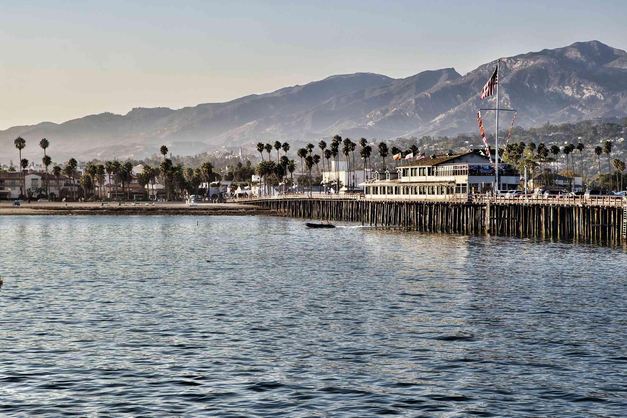 Santa Barbara from the water