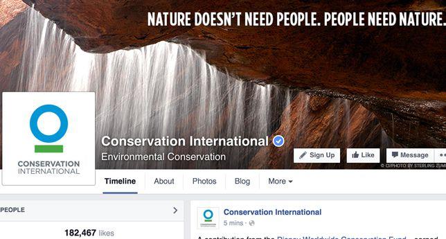 Conservation International on Facebook