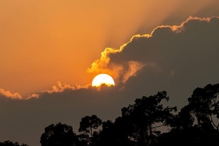 Global warming, Heatwave hot sun, Climate Change, Climate emergency