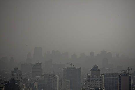 tehran air pollution photo