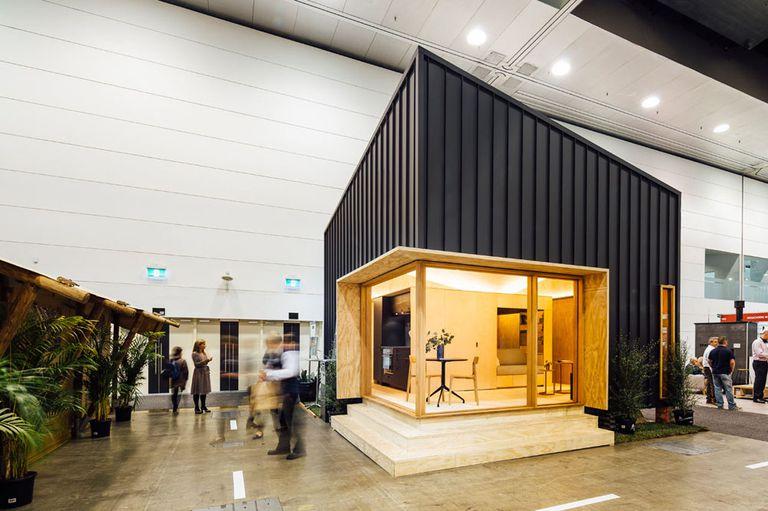 La gran misión de esta pequeña casa prefabricada es ayudar a los jóvenes en riesgo