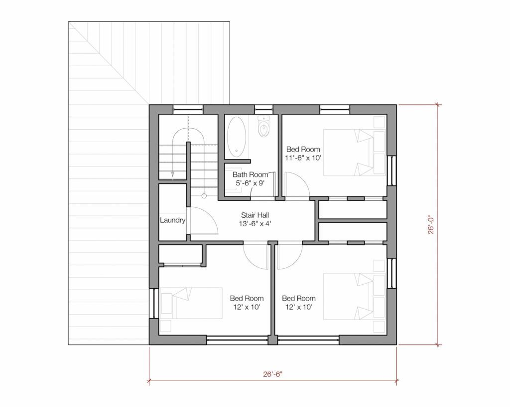 Go Home second floor 1600 unit