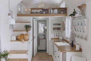 Mikrohus 4 Seasons tiny house Ida Johansson interior