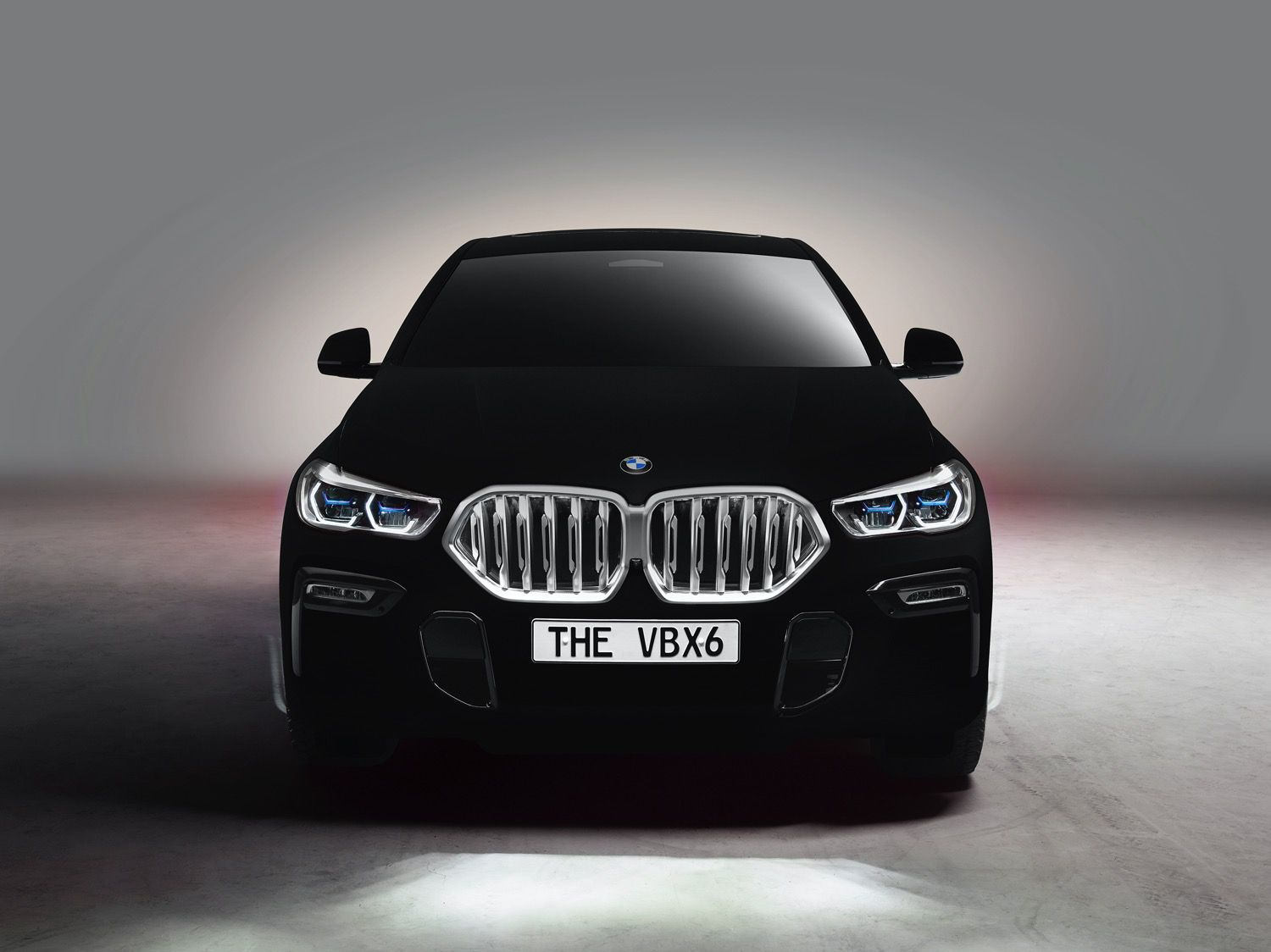 Front of car BMW