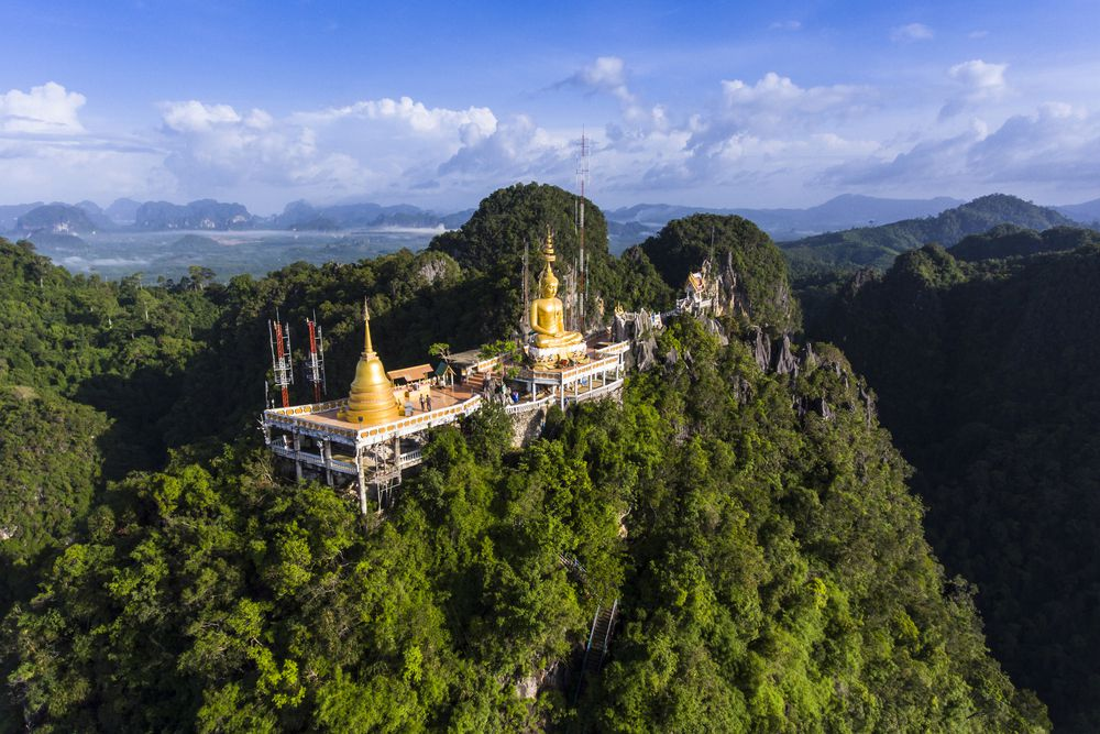 Tiger Cave Temple in Krabi, Thailand