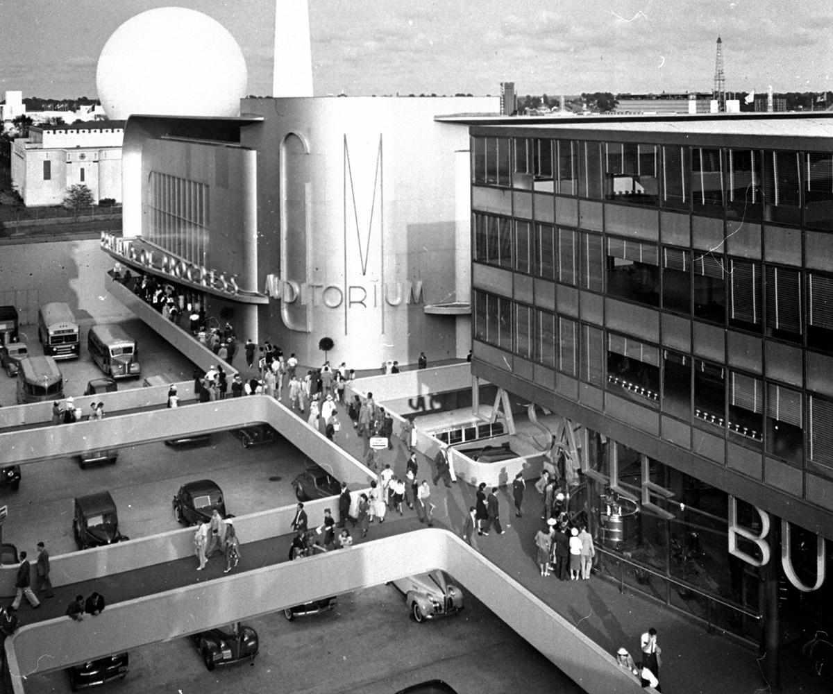 1939 Worlds fair GM Pavilion