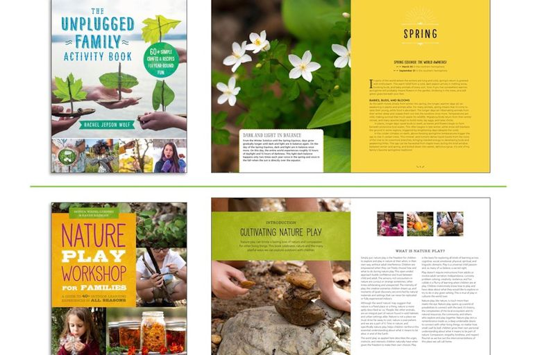 nature activity books for children