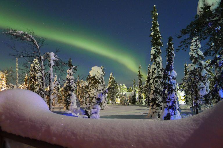 Vacaciones en las luces: 6 videos de la aurora ártica