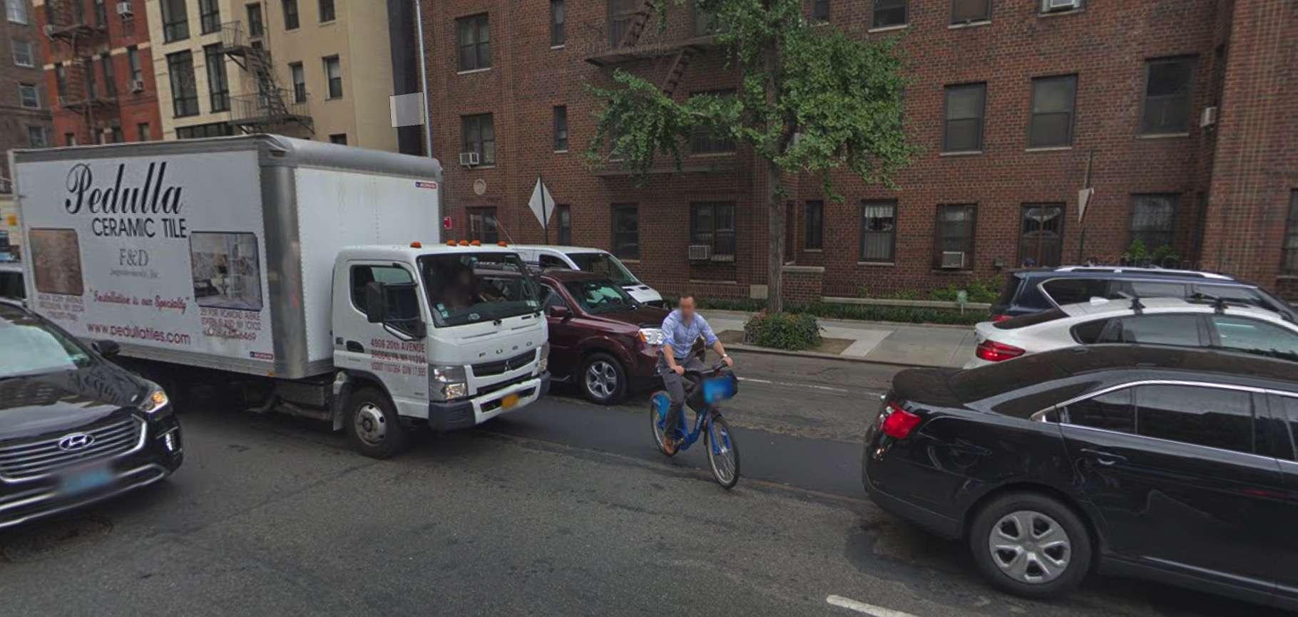 What happens when 2nd Avenue bike lane turns to sharrows