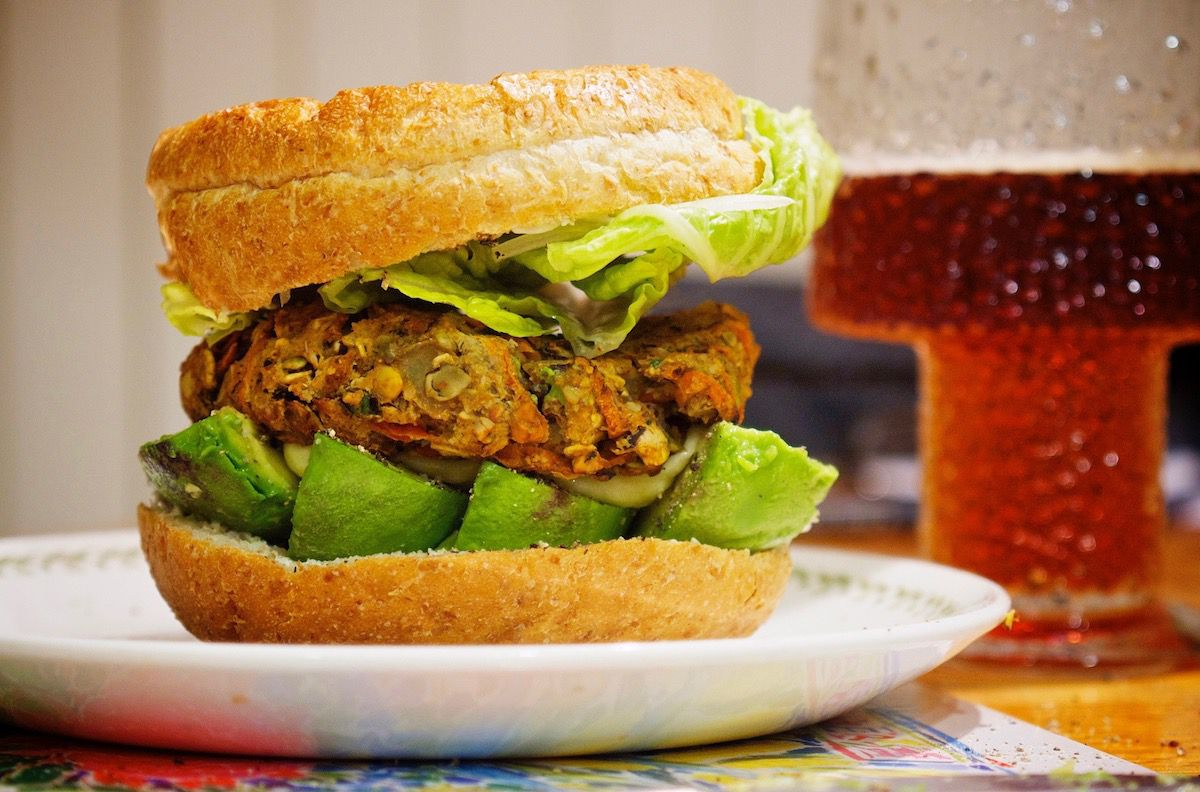 How to Make a Seriously Awesome Veggie Burger