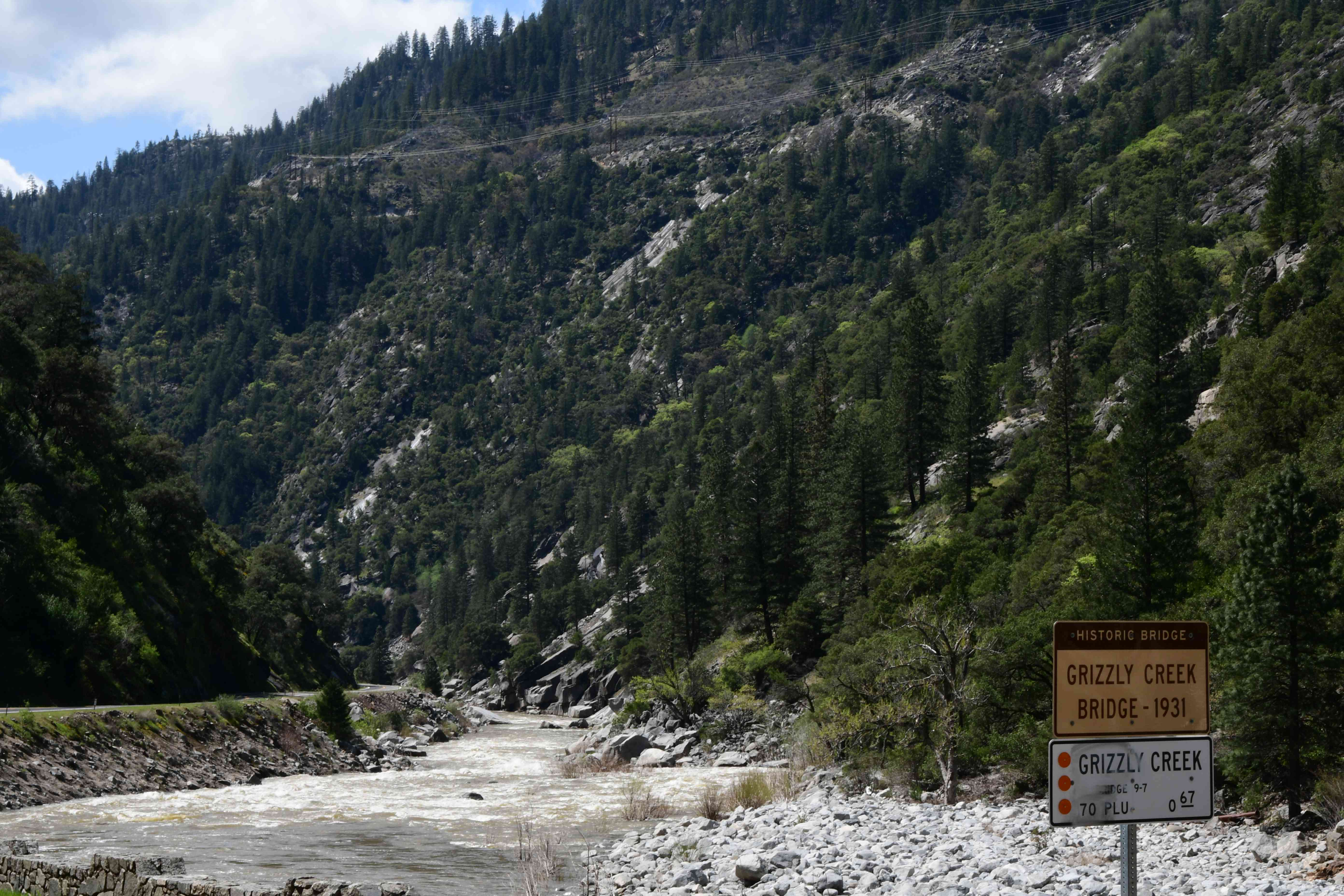 Feather River at Grizzly Creek along the Feather River Canyon