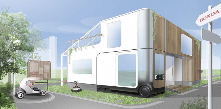El Honda IeMobi es una sala de estar autónoma móvil y el futuro de los automóviles autónomos