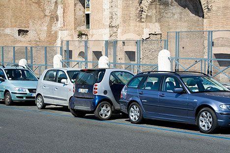 smart car parking trick photo