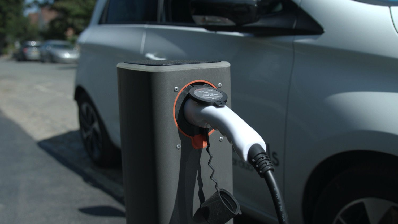 closeup of charger