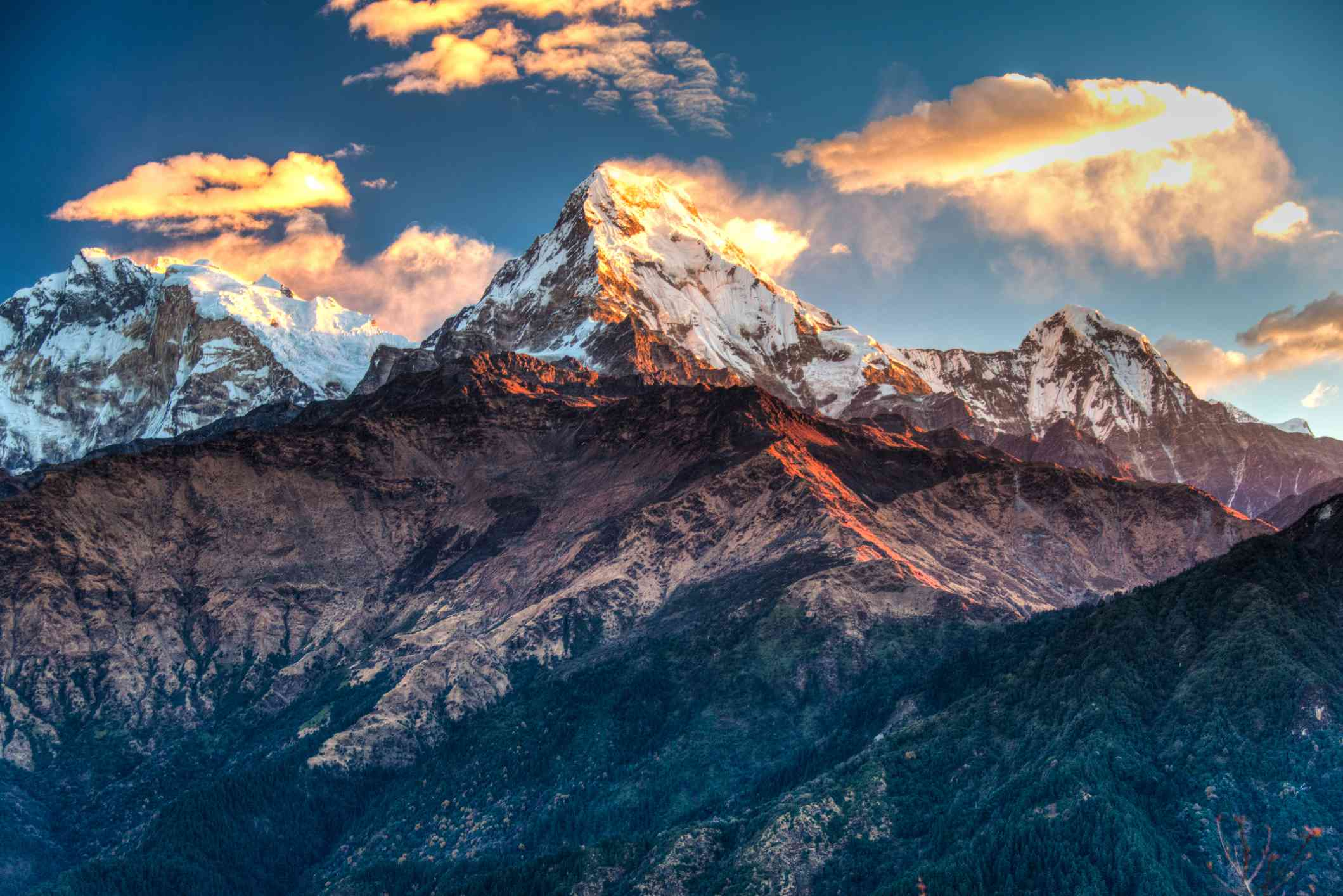 Annapurna in north central Nepal