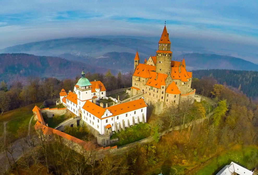Aerial Views of Fairy Tale Castles From Around the World