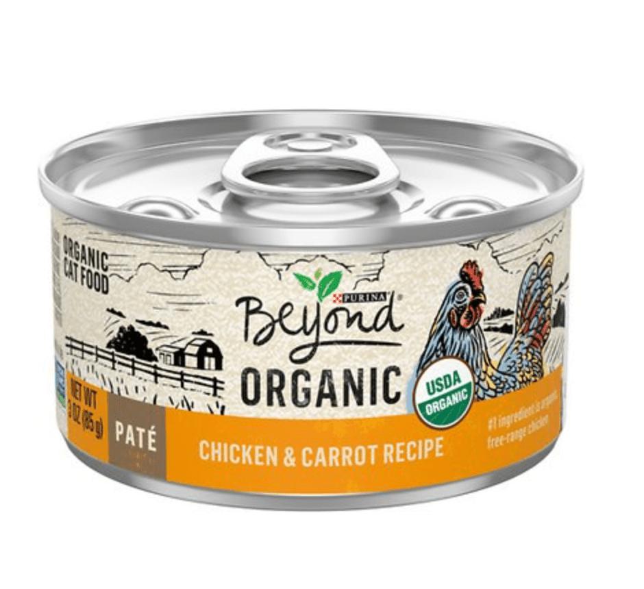 Purina Beyond Organic Chicken and Carrot Recipie