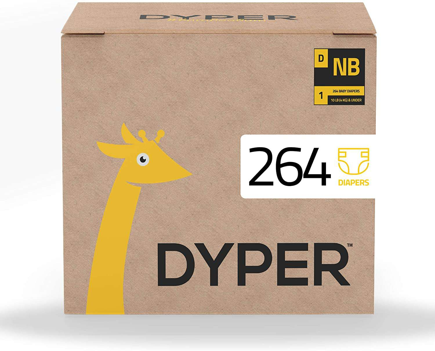 DYPER Responsibly Sourced Bamboo Baby Diapers