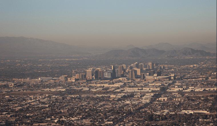 Skyline of Phoenix, Arizona