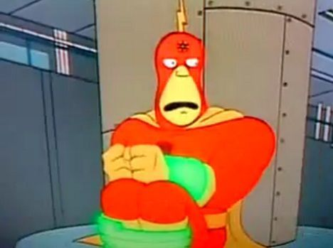 radioactive man nuclear power super heroes photo