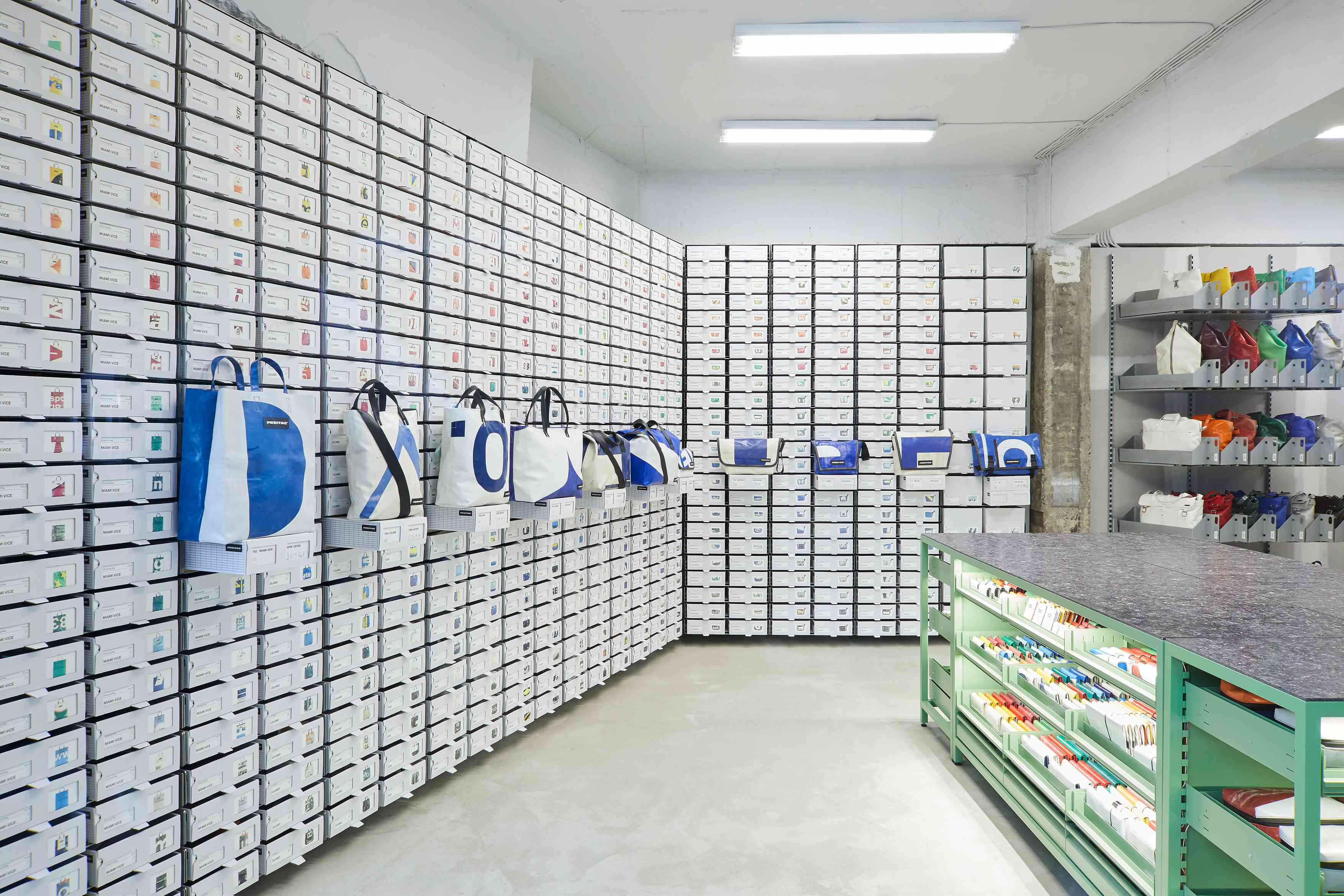 Freitag interior of store