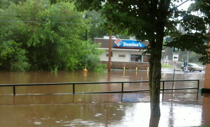 Flooding in Duluth Minnesota