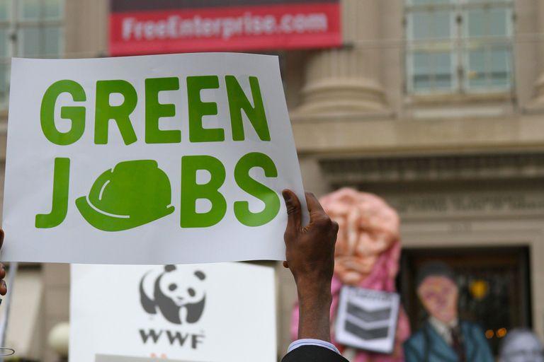 Consigue un trabajo, lucha contra el cambio climático