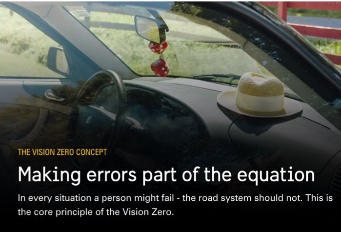vision zero people are part of the equation